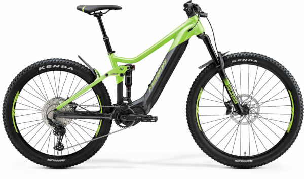 eONE-SIXTY 500 S(41,5) vihreä/musta
